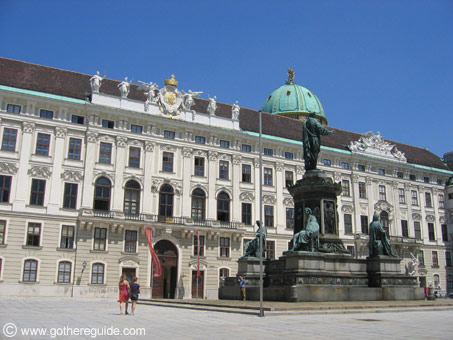 Hofburg Imperial Palace Vienna