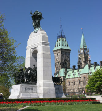 National War Memorial Ottawa
