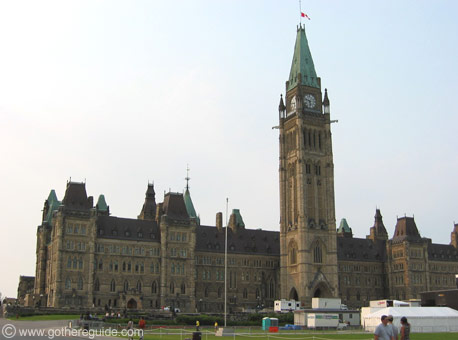 Parliament Buildings Peace Tower Ottawa