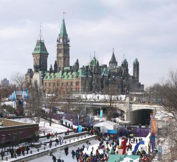 Rideau Canal Ottawa Skating Rink