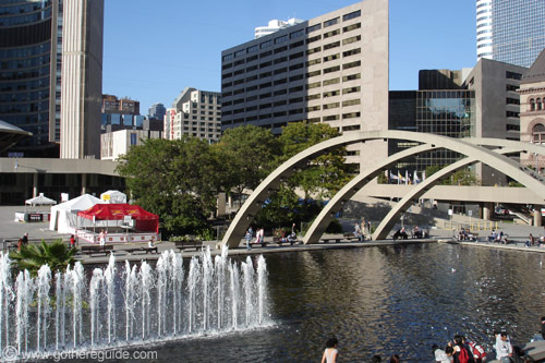 Nathan Phillips Square Toronto
