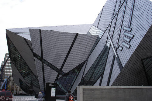 Royal Ontario Museum Lee-Chin Crystal wing Toronto