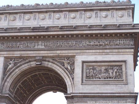 arc de triomphe arc de triomphe information and pictures