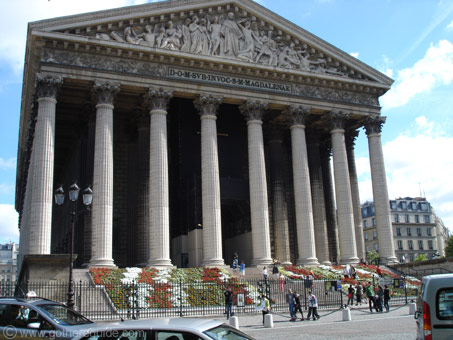 La madeleine la madeleine information and pictures for Arquitectura neoclasica