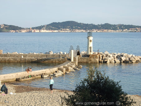 St Tropez Bay of Pampelone