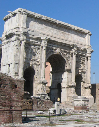 Arch of Septimius Severus Roman Forum