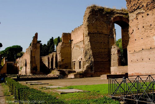 Baths of Caracalla Ruins