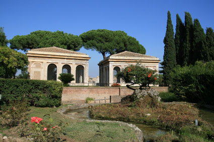 Palatine Hill The Farnese Gardens Rome