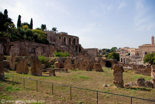 Palatine Hill and Roman Forum