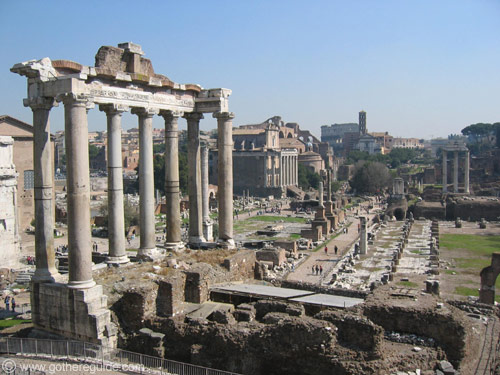 Roman Forum Temple of Saturn