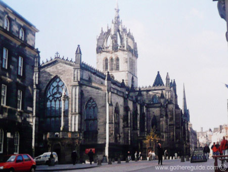 St Giles' Cathedral Edinburgh