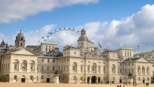 Horse Guards Parade Whitehall London