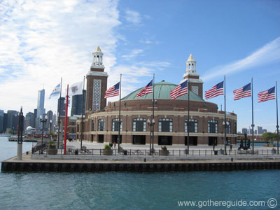 to the pier in the Navy Pier redevelopment project and the popularity of the