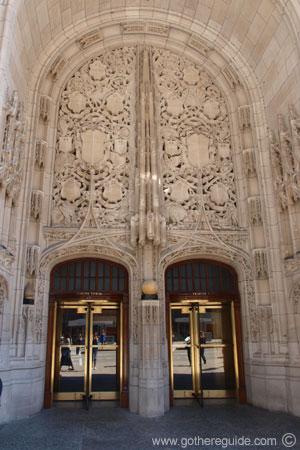 & Tribune Tower Door Picture Tribune Tower Door Photo