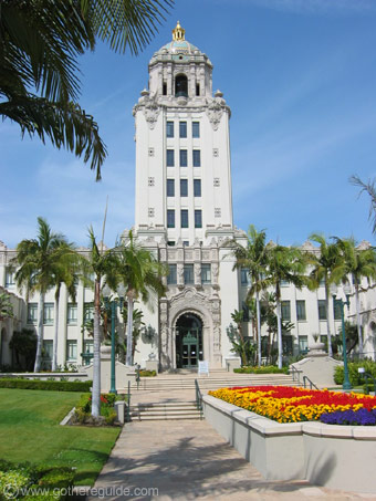 Beverly Hills City Hall Los Angeles