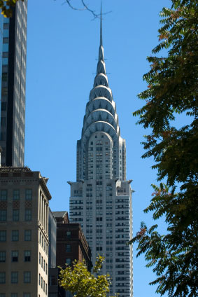 chrysler building chrysler building information and pictures. Black Bedroom Furniture Sets. Home Design Ideas