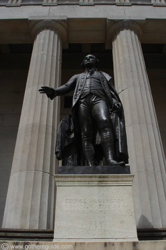 Wall Street Federal Hall New York