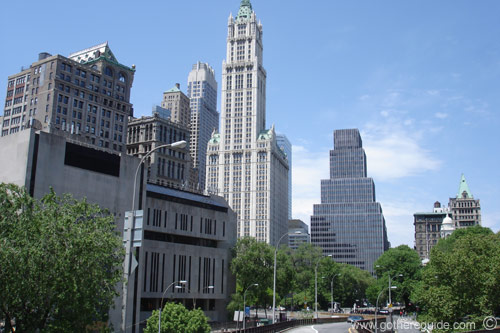 Woolworth Building Panorama Picture Woolworth Building